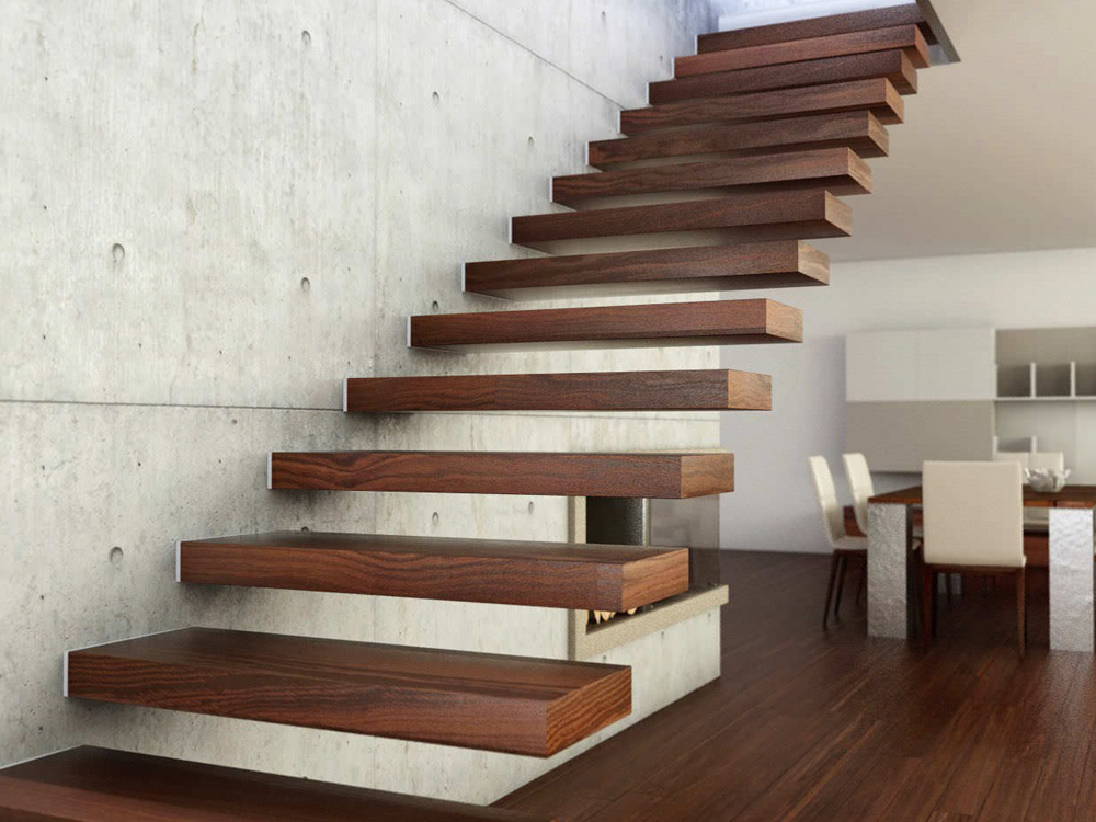 Cantilever And Floating Staircases - Sullo Engineering